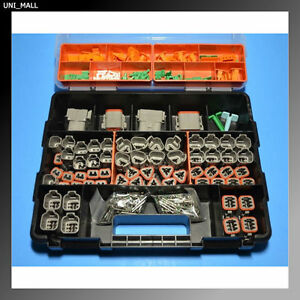 448 Pcs Deutsch Dt Genuine Connector Kit With 14 Awg Solid Contacts Usa