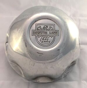 Center Line Custom Wheel Center Cap Polished Aluminum 8 25