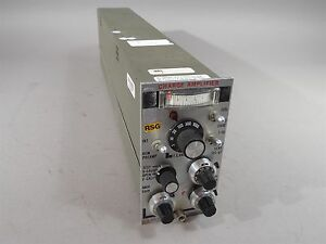 Unholtz dickie D22pmgs hu Charge Amplifier Used