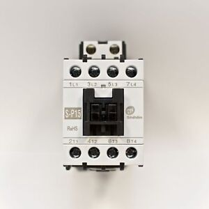 Shihlin Magnetic Contactor S p15 3a1a normally Open Coil 110v