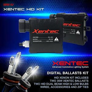 Xentec Xenon 35w 55w High Low Dual Beam Hid Kit H7 H8 H11 H13 9004 9005 9007