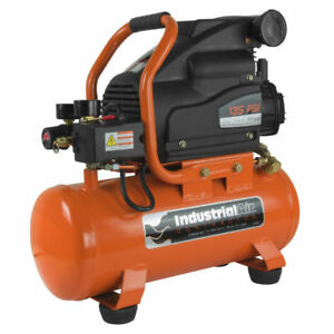 Industrial Air 3 Gal 135 Psi Oil lube Hotdog Air Compressor 1 0 Hp C031i New
