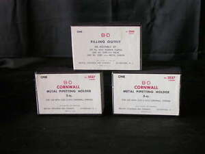 Lot Of 2 B d 1260mh Metal Pipetting Holder For 1260s Syringe 5 Cc New Open Box