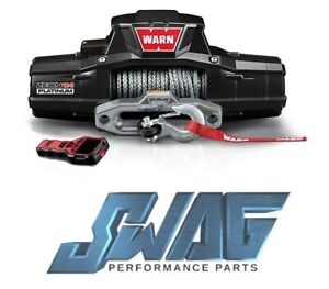 Warn Zeon 12 s Platinum 12 000lb Recovery Winch With 80 Spydura Pro Rope