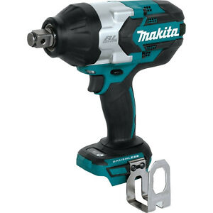 Makita 18v Lxt Brushless 3 4 Square Drive Impact Wrench tool Only Xwt07z New
