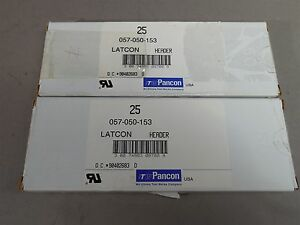 50pc Pancon 057 050 153 50 pin 057 Series Low Profile Box Male Header Straight