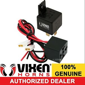4 Pin Horn Relay 30a 12v W Pre Wired Quick Connect Plug Socket Harness Vxk7801