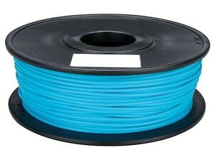 Velleman Pla175d1 1 75 Mm 1 16 Pla Filament Light Blue 1 Kg 2 2 Lb
