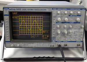 Lecroy 9410 Dual Channel 150 Mhz Digital Oscilloscope 100 Ms s 4 Gs s Works