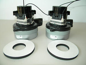 Carpet Cleaning 2 stage Extractor Vacuum Motors W gasket