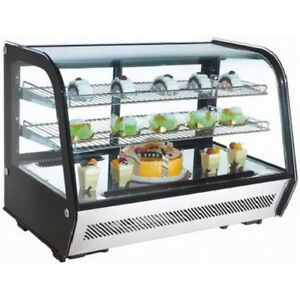 Omcan Rtw160l 35x22 5x27 inch Countertop Refrigerated Showcase Ce