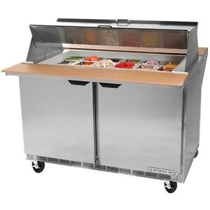 Beverage Air Spe60 24m 60 inch Refrigerated Sandwich And Salad Prep Table Ul