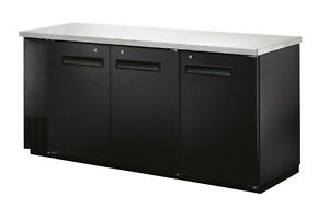 Omcan Ubb 24 72f 72 8x24 4x36 2 inch Refrigerated Back Bar Cooler With Stainles