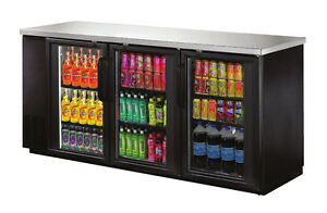 Omcan Ubb 24 72g 72 8x24 4x36 2 inch Refrigerated Back Bar Cooler With Stainles
