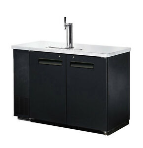Omcan Udd 24 48 48 8x24 4x36 2 inch Refrigerated Back Bar Cooler With Spout And