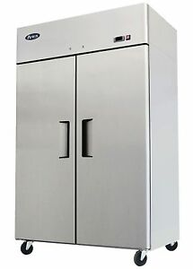 Atosa Mbf8002 Top Mount 2 door Upright Freezer