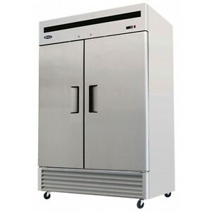 Atosa Mbf8503 Bottom Mount 2 door Upright Freezer