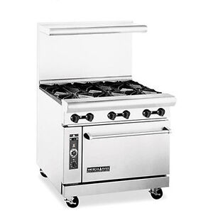 American Range Ar 6nv 6 burner Gas Range With Innovection Oven Etl