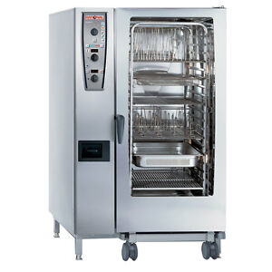 Rational Model 202 A229206 19d202 Gas Combi Oven With Twenty Full Size Sheet Pa