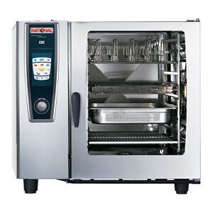 Rational Model 102 A128106 12 Electric Combi Oven With Ten Full Size Sheet Pan