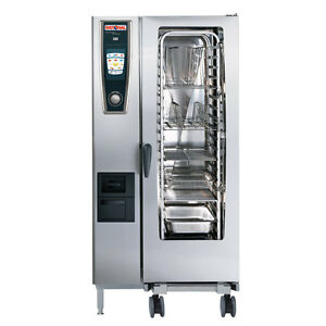 Rational Model 201 A218106 12 Electric Combi Oven With Twenty Half Size Sheet P