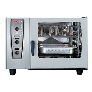 Rational Model 62 A629206 19d202 Gas Combi Oven With Six Full Size Sheet Pan Ca