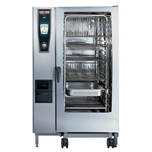 Rational Model 202 A228206 19e Gas Combi Oven With Twenty Full Size Sheet Pan C