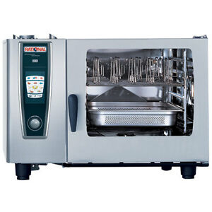 Rational Model 62 A628106 12 Electric Combi Oven With Six Full Size Sheet Pan C