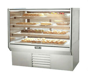 Leader Hbk48dry 48x34x53 inch Dry High Bakery Display Case Etl Listed