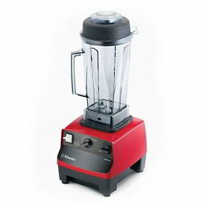 Vitamix 5028 64 ounce Drink Blender Pulse And Auto Off Red Base Nsf