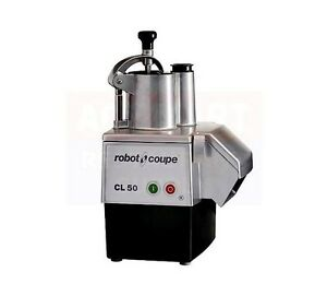 Robot Coupe Cl50e Continuous Feed Food Processor Cetlus Etl Nsf Ul Csa