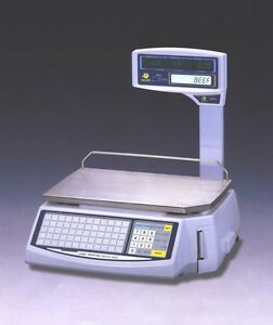 Easy Weigh Ls 100 Label Printing Scale Standalone Pole
