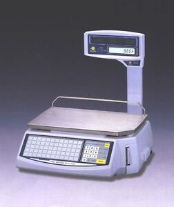 Easy Weigh Ls 100 w Label Printing Scale Wi fi Pole