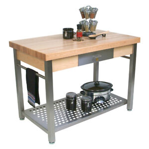 John Boos Cucg21 Cucina Grande Work Table