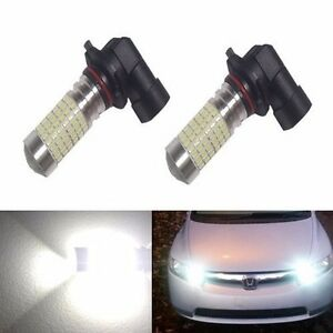 Jdm Astar 2pcs 144 smd High Power White Led Bulbs For Replacing Acura Fog Lights