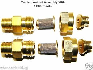 Carpet Cleaning Truckmount 11003 T jet Assembly For Wands