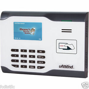 Uattend Cb5500 Wifi Employee Management Time Clock