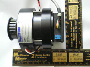 Kollmorgen Brushless Dc Motor With Encoder And 22xl037 Pulley