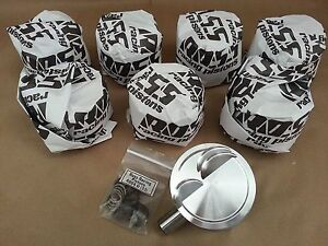 Small Block Ford Windsor Custom Pistons 4 00 Bore 12cc Dish