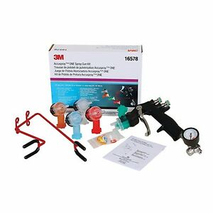 3m 16578 Accuspray One Spray Gun Kit