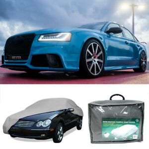 Universal Car Cover Breathable Heat Protector Outdoor Resistant 190 X 70 X 47