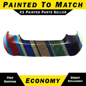 New Painted To Match Rear Bumper Cover Replacement For 2012 Buick Verano Sedan