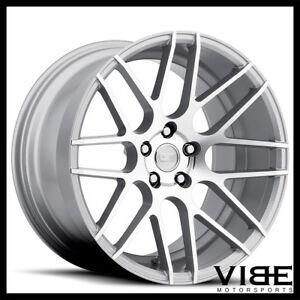19 Mrr Ground Force Gf7 Silver Concave Wheels Rims Fits Lexus Isf