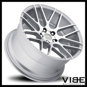 19 Mrr Ground Force Gf7 Silver Concave Wheels Rims Fits Lexus Is250 Is350
