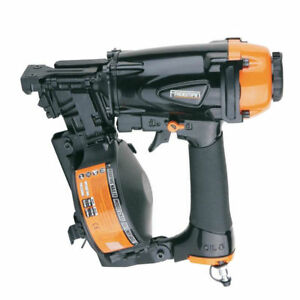 Freeman Pcn45 15 Degree 1 3 4 In Coil Roofing Nailer With Blow molded Case New