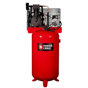 Porter cable 5 Hp 80 Gal tops Oil lube Air Compressor Pxcmv5048055 New