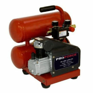 Proforce Vsf1080421 4 Gallon Twin Stack Quality And Durable Air Compressor New