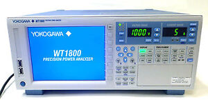 New Unused Yokogawa Wt1800 Wt1804 40 d he Precision Power Analyzer bnib