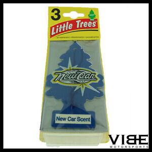 Little Trees Car Home Office Hanging Air Freshener New Car Scent pack Of 3