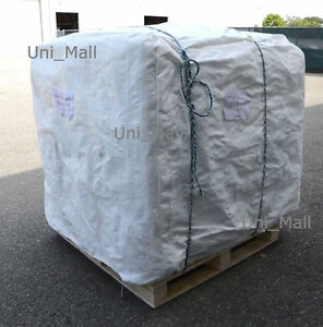 New 210 Bulk Bag 35x35x50 Fibc sack Ton Bag 3000lb Swl by Pallet
